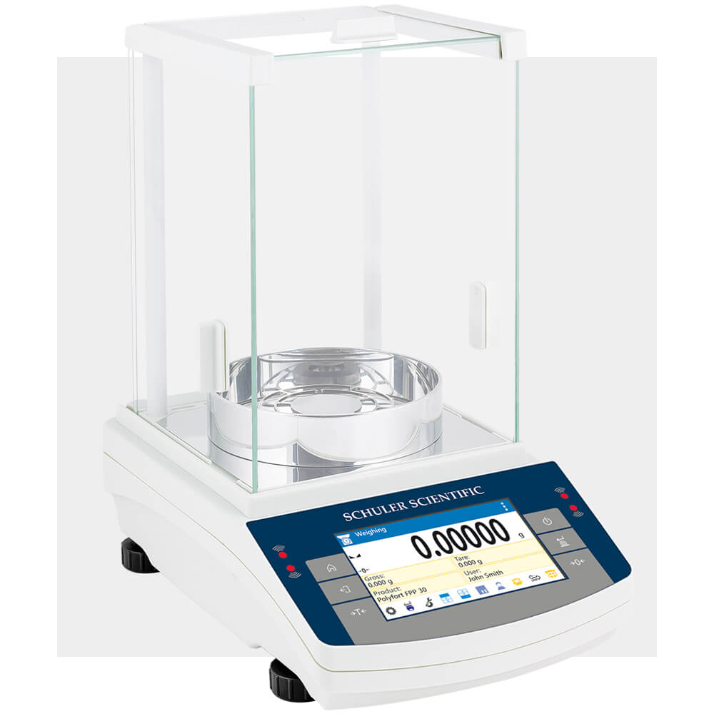 The TD-series scale by Schuler Scientific is NTEP certified and suitable for use in a lab environment where accuracy is paramount.