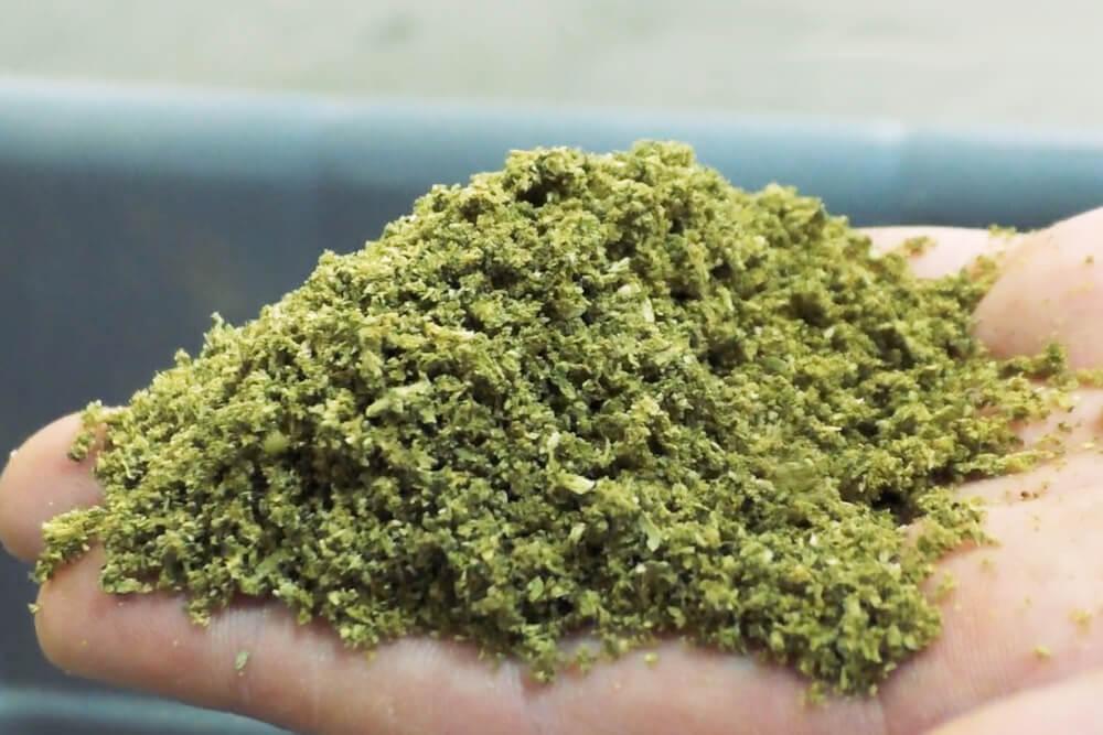 Fine Ground Cannabis